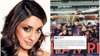 Just Men's World Cup! Twitter React as Isa Guha Stirs Debate Over Name And Coverage of Tournament Ahead of New Zealand vs England ICC CWC 2019 Finals | SEE POSTS