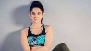 Jennifer Winget Flaunts Her Washboard Abs in Crop Top And Tights, Pictures Will Make You go Crazy