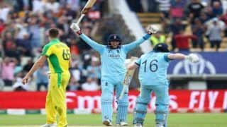 ICC Cricket World Cup 2019 2nd Semifinal Report: Jason Roy, Chris Woakes Star as England Hammer Australia by 8 Wickets to Reach First WC Final Since 1992