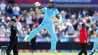 ICC Cricket World Cup 2019 Match 41 Report: Jonny Bairstow, Mark Wood Shine as England Thump New Zealand by 119 Runs to to Become Third Team to Qualify For Semifinals