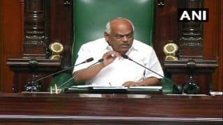 K'taka Crisis: House Adjourns Without Trust Vote, Will Resume Today; BJP Stages Overnight 'Dharna'