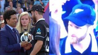 Kane Williamson's Priceless Reaction on Receiving Man of The Tournament After England Beat New Zealand is Unmissable | WATCH VIDEO
