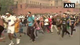 Delhi: Remembering Martyrs, Kargil 'Victory Run' Flagged Off From Vijay Chowk | WATCH