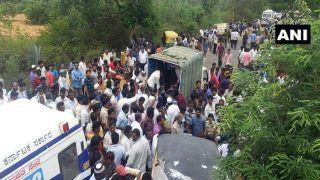 Karnataka: 12 Dead, 20 Injured After 2 Vehicles Collide in Chintamani