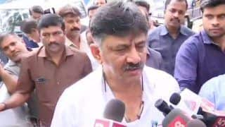'Nobody Will Resign,' Karnataka Minister DK Shivakumar Tears Resignation Letters of Rebel MLAs