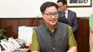 Kiren Rijiju Hails Indian Team's Performance at Commonwealth Weightlifting Championships