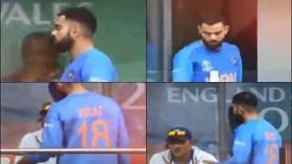 Virat Kohli Has A Heated Convo With Ravi Shastri For Sending Rishabh Pant, Dinesh Karthik Ahead of MS Dhoni During ICC Cricket World Cup 2019 Semi-Final 1 Between India-New Zealand | WATCH VIDEO