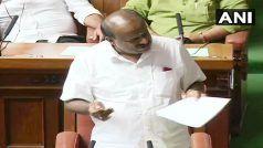 कर्नाटक संकटः कुमारस्वामी को शाम 6 बजे तक साबित करना होगा बहुमत, गवर्नर ने बढ़ाई समय सीमा