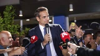 Kyriakos Mitsotakis Sworn in as Greece's New Prime Minister on July 8