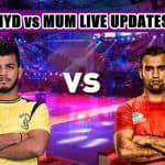 Pro Kabaddi League 2019, Highlights, HYD vs MUM Match 1: U Mumba Beat Titans 31-25