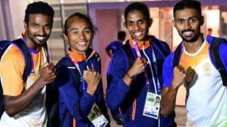 Indian Mixed Relay Team of Hima Das, Mohammad Anas, Arokia Rajiv, MR Poovamma in Line to Win Asian Games Gold Medal After One Year
