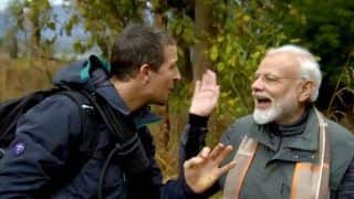 Bollywood Gears up to Watch PM Narendra Modi on Man vs Wild With Bear Grylls