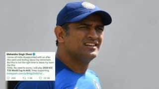 MS Dhoni To Play T20 World Cup? Truth Behind Viral Facebook Post Revealed -- SEE POST