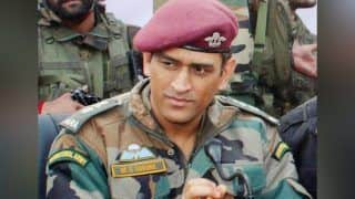 MS Dhoni Completes Stint With Indian Army, Arrives in National Capital to Meet Daughter Ziva   SEE PIC