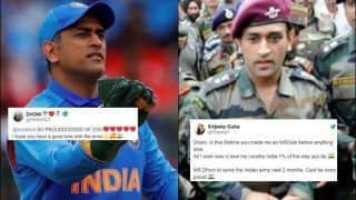 Twitter Lauds Lt Colonel MS Dhoni After he Takes Break From Cricket to Serve His Territorial Army Regiment | SEE POSTS