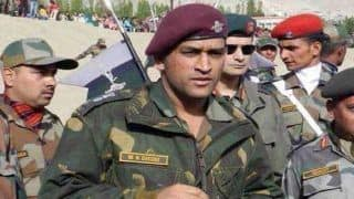 MS Dhoni to Serve Indian Army in Kashmir, Assigned Patrolling And Guard Duty by Parachute Regiment