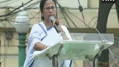 BJP Won LS Polls by Cheating, Using EVMs And CRPF: Mamata at TMC Martyrs    Day Rally