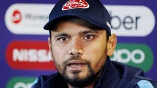 Mashrafe Mortaza Remains Captain as Bangladesh Name Squad For Sri Lanka Tour