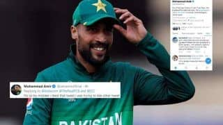 Mohammad Amir Confesses he Mistakenly Liked Controversial 'Should Leave This Terrorist Country' Tweet, Quashes British Passport Rumours | SEE POST