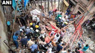 मुंबई में बड़ा हादसा: 4 मंजिला बिल्डिंग ढही, 40-50 लोग फंसे
