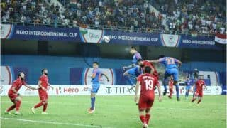 Narender Gahlot Becomes India's Second Youngest Goalscorer During India vs Syria Match in Hero Intercontinental Cup 2019
