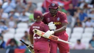 ICC Cricket World Cup 2019 Match 42: Nicholas Pooran, Jason Holder Power West Indies to 311/6 Against Afghanistan at Headingley