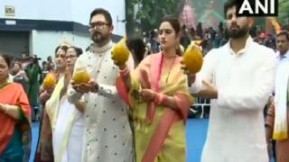 Kolkata: Nusrat Jahan, Mamata Banerjee Flag off ISKCON Rathyatra
