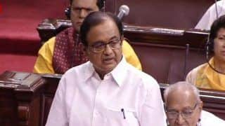 'Democracy is Suffering a Blow': P Chidambaram Speaks on Karnataka, Goa BJP Coup