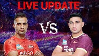 Pro Kabaddi League 2019 HIGHLIGHTS Match 19: Monu, Sumit Inspire UP Yoddha to Maiden Win of Season, Beat U Mumba 27-23