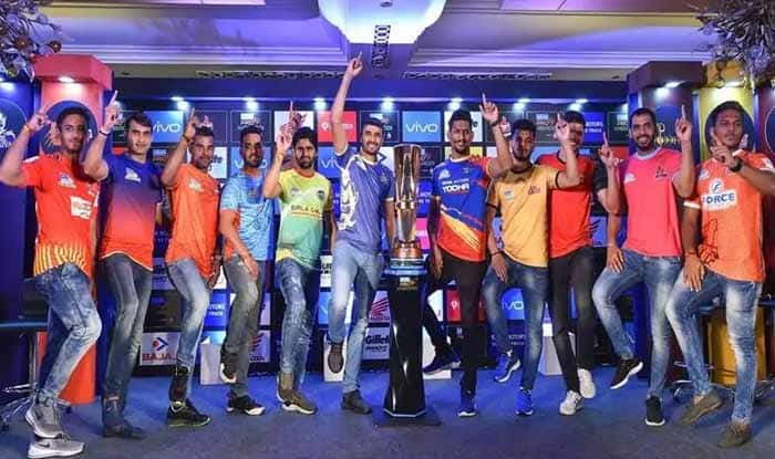 Vivo Pro Kabaddi league 2019 - PKL 2019 Team Wise Schedule, Date and