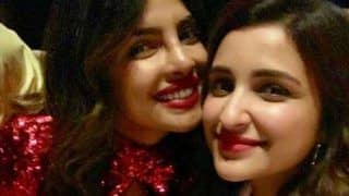 Parineeti Chopra Poses With Birthday Girl Priyanka Chopra in Miami