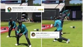 Pakistan Cricket Team And PCB Trolled on Twitter For Sharing Practice Session Snapshots Ahead of ICC Cricket World Cup 2019 Clash Against Bangladesh | SEE POSTS