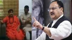 BJP MP Pragya Thakur Pulled up by Nadda For Comment