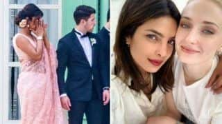 Priyanka Chopra Wipes Off Her Tears at Joe Jonas-Sophie Turner Wedding in France - See Pic