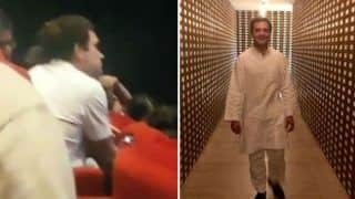 Viral Video: Rahul Gandhi Watches Ayushmann Khurrana Starrer Article 15 in Delhi