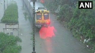 Mumbai Rains: Three Flights Diverted, Local Train Services Continue Normally