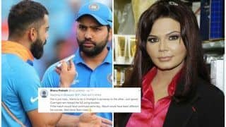 Rakhi Sawant Slammed For Accusing Virat Kohli-Rohit Sharma of Using The ICC Cricket World Cup 2019 as a Honeymoon Spot | WATCH