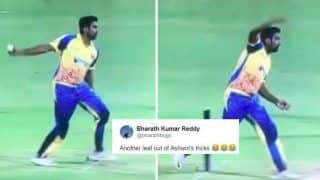 Ravichandran Ashwin's Strange Bowling Action During Dindigul Dragons-Chepauk Super Gillies TNPL Match Leaves Twitter Laughing | WATCH VIDEO