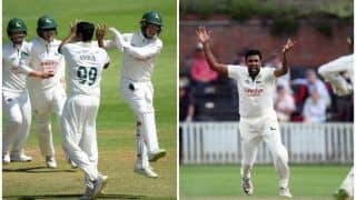 After World Cup 2019 Snub, Ravichandran Ashwin Shines With Six Wickets in County Championship For Nottinghamshire Against Surrey | WATCH VIDEO