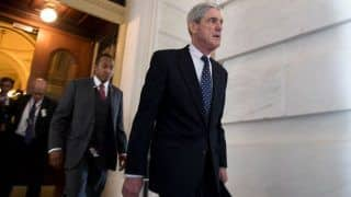 Robert Mueller Says he Didn't Exonerate Donald Trump in Russia Probe