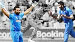 ICC Cricket World Cup 2019 Match 40 Report : Rohit Sharma, Jasprit Bumrah, Hardik Pandya Star as India Beat Bangladesh at Edgbaston to Book Semifinals Berth