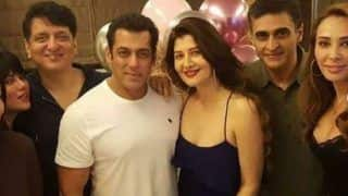 Salman Khan Celebrates Ex-lover Sangeeta Bijlani's Birthday With Rumoured Girlfriend Lulia Vantur Also in Attendance
