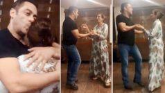 सलमान खान ने मां के साथ इस अंग्रेजी गाने पर किया डांस, वायरल हुआ वीडियो