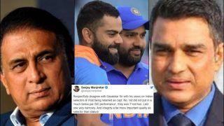 Sanjay Manjrekar 'Respectfully' Disagrees With Sunil Gavaskar Over His Views on Virat Kohli, Fans Remind Him of Ravindra Jadeja Episode Instead | SEE POSTS