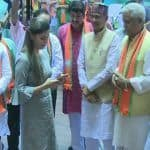 Haryanvi Singer-Dancer Sapna Choudhary Joins BJP at Party's Membership Drive
