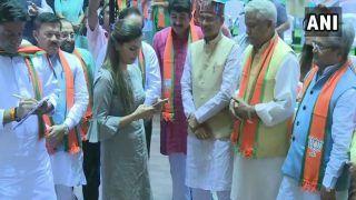Haryanvi Singer-Dancer Sapna Choudhary Joins BJP at Party's Membership Drive
