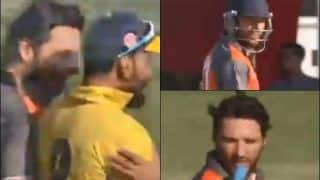 'Pagal Hai..Bowling Kaun Karega,' Shahid Afridi's Hilarious Exchange With Wahab Riaz During Global T20 Canada Match Caught on Stump Mic | WATCH VIDEO