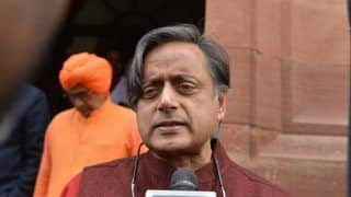 Congress Leader Shashi Tharoor Hits Out at Donald Trump Over Attack on Hindu Priest