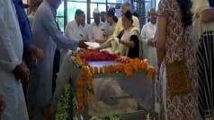 Sheila Dikshit's Last Rites at Nigam Bodh Ghat at 2:30 PM, Senior Leaders Pay Their Last Respects | Updates