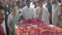 'Sheila Dikshit Amar Rahe': Mortal Remains of Former CM Reach Cong HQ, Sonia, Priyanka Pay Tribute | Updates